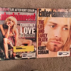 Kurt and Courtney 1994 Entertainment Weekly